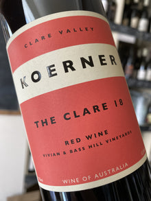 Koerner The Clare 2018 75cl