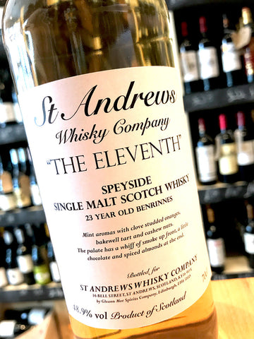 St Andrews Whisky Company 'The Eleventh' Benrinnes 23 Year 70cl