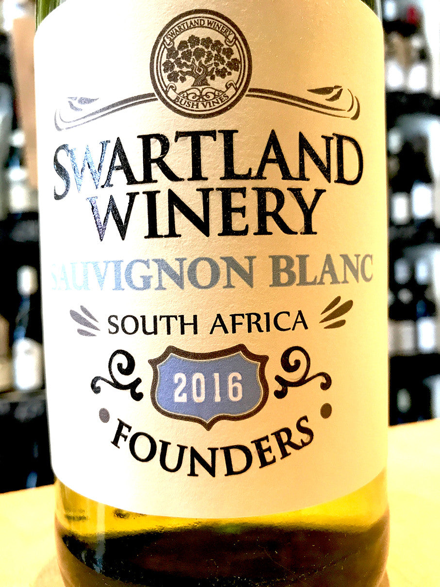 Swartland Winery Founders Sauvignon Blanc 2016 75cl
