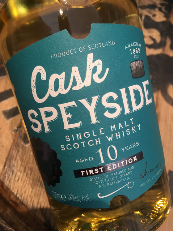 Cask Speyside 10 Year Old 70cl