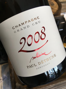 Champagne Paul Dethune Millesime 2008 75cl