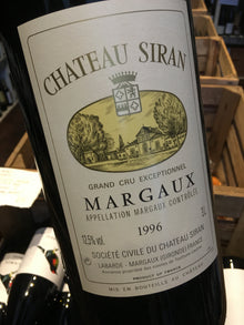 Chateau Siran 1996 Double Magnum 300cl