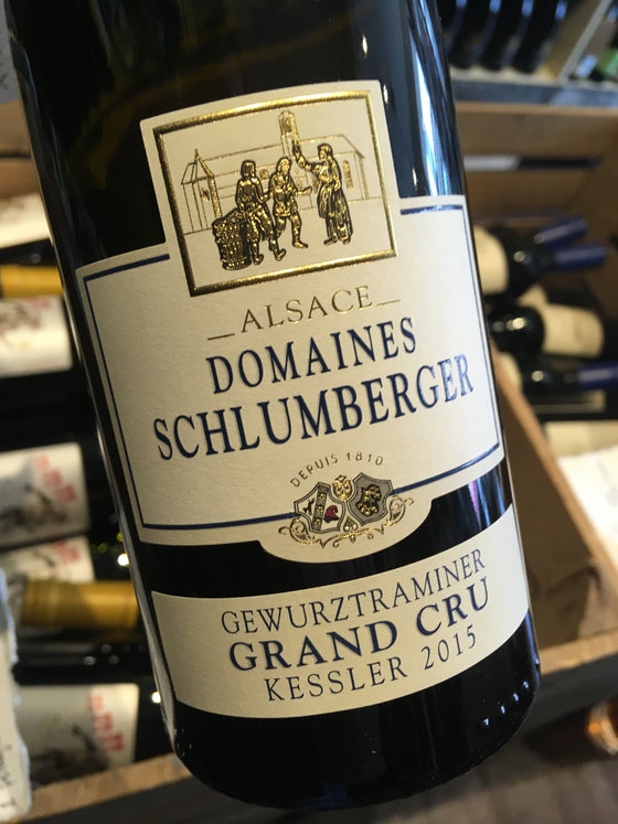 Domaines Schlumberger Gewurztraminer Grand Cru Kessler 2015 75cl