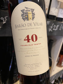 Barao de Vilar 40 Year Old Tawny Port 75cl