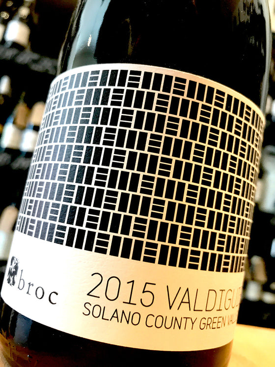 Broc Cellars Valdiguie 2015 75cl