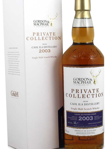 Caol Ila 2003 Private Collection Sassicaia Finish from Gordon & Macphail 70cl