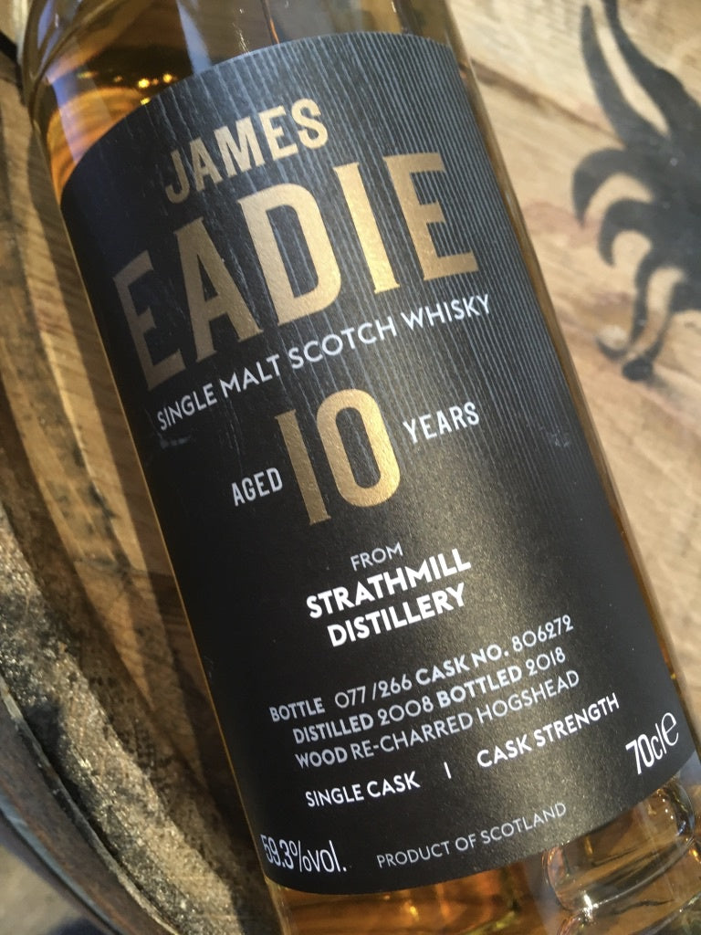 James Eadie Strathmill 10 Year Old Cask Strength 70cl