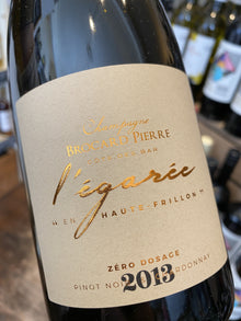 Champagne Brocard Pierre L'Egaree Zero Dosage 2013 75cl