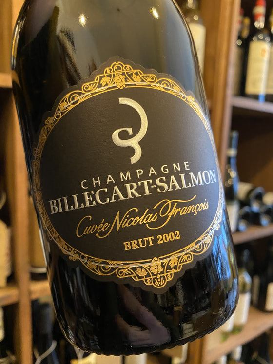 Billecart Salmon Cuvee Nicolas Francois Billecart 2002 75cl