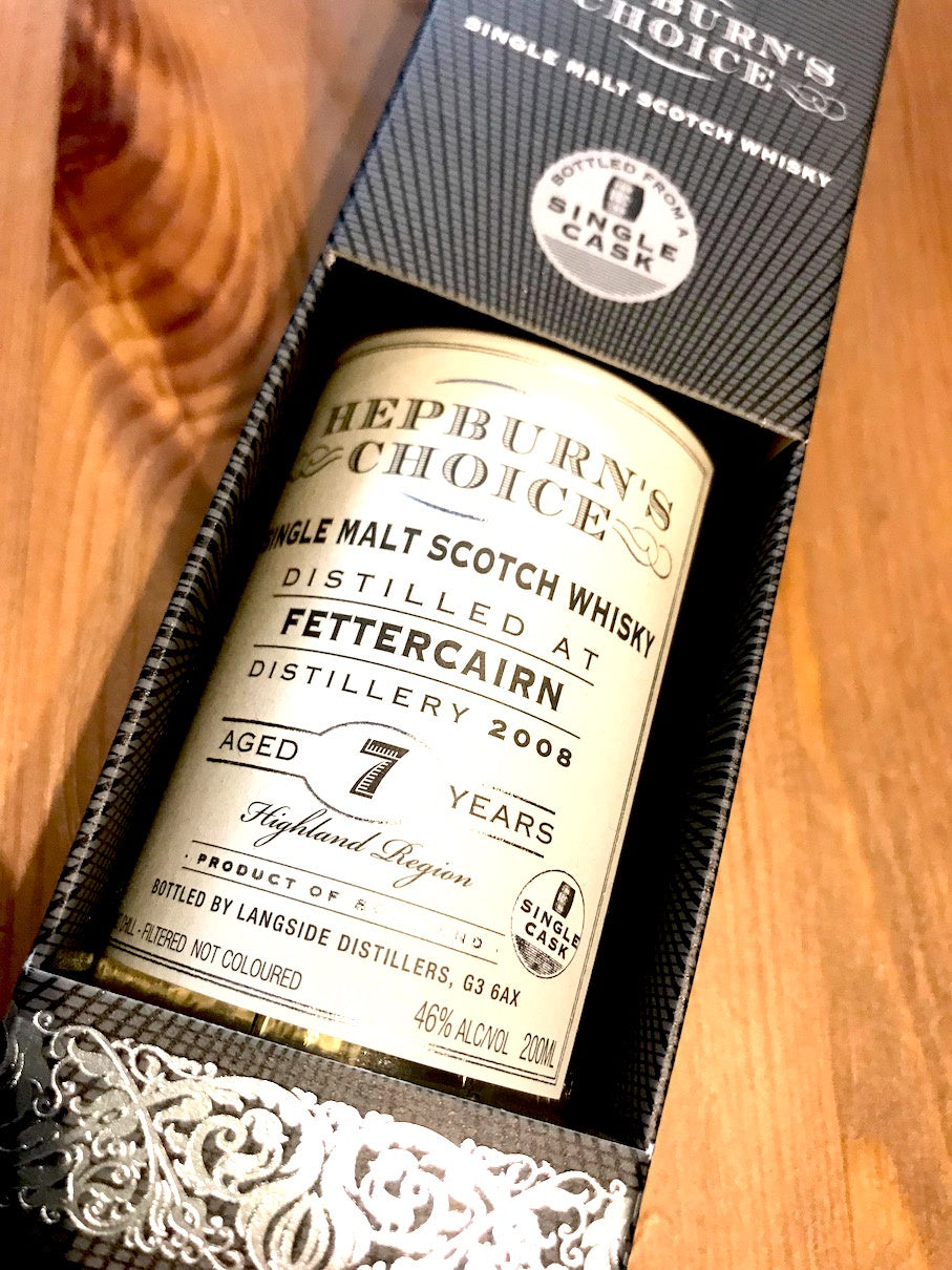Hunter Laing Hepburn's Choice Fettercairn 7 Year Old 20cl
