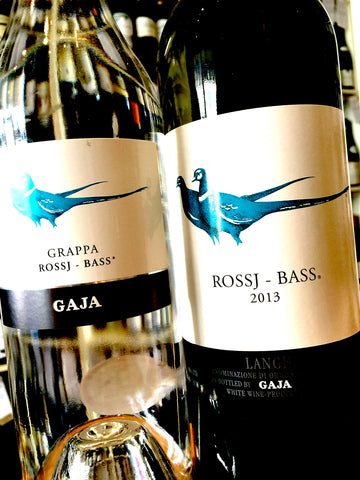 Gaja Rossj Bass Wine & Grappa Offer