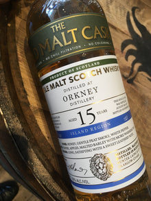 Hunter Laing Old Malt Cask Orkney 2003 15 Year Old 70cl