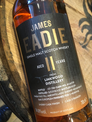 James Eadie Linkwood 11 Year Old Amontillado 70cl