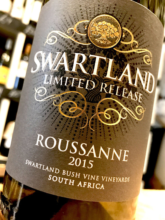 Swartland Winery Limited Release Roussanne 2015 75cl