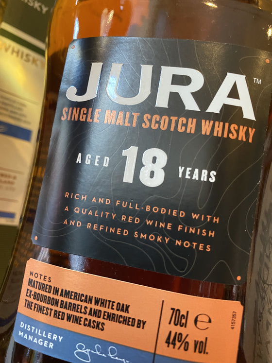 Isle of Jura 18 Year Old 70cl