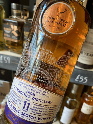 Gordon & Macphail Discovery Glenrothes 11 Year Old 70cl
