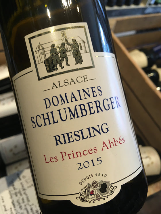 Domaines Schlumberger Riesling 'Les Princes Abbes' 2015 75cl