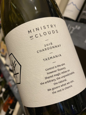 Ministry of Clouds Chardonnay 2018 75cl