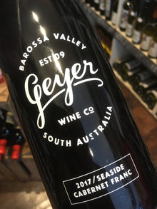 Geyer Wine Co Seaside Cabernet Franc 2017 75cl