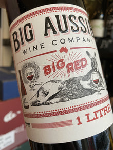 Big Aussie Wine Company Red 100cl