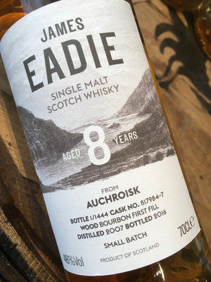 James Eadie Auchroisk 8 Year Old 75cl