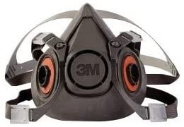3M - Half Facepiece 6000 Series, Reusable - Size: Large