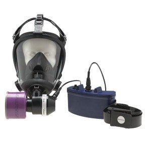 Honeywell Survivair® Opti-Fit Mask Mounted Small PAPR System With Facepiece, Blower, Battery Charger, Power Cord, He Filter, Belt And Airflow Tester