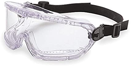 Honeywell V-Maxx Clear Polycarbonate Over The Glass (OTG) Safety Goggle - Indirect Vent - 99.9 % UV Protection - 11250810 [PRICE is per EACH]