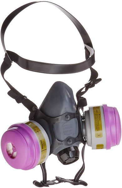 Honeywell Multi-Purpose Reusable Half Mask MC/P100 Respirator Convenience Pack, Large (RWS-54032)
