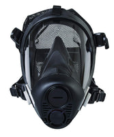 Honeywell RU65002L Full Facepiece Respirator with 5-Point Head Strap, Capacity, Volume, Standard, Large, Black