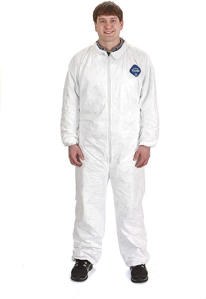 Little Giant Beekeeping Tyvek Coverall Protective Farm and Bee Suit (XL) (Item No. TYSUITXL)