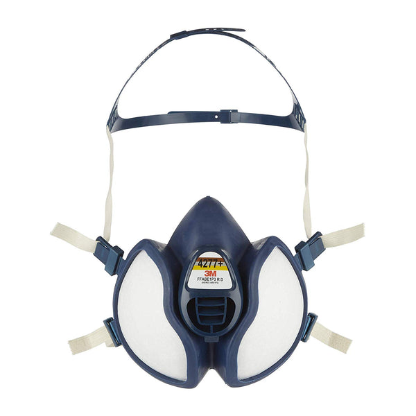 3M Maintenance Free Half Mask 4277+, Reusable Respirator, FFABE1P3 R D Filters