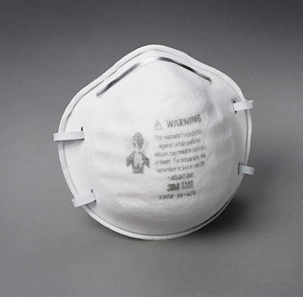 3M 8200HA1-A Sanding and Fiberglass Respirator 3 Pack
