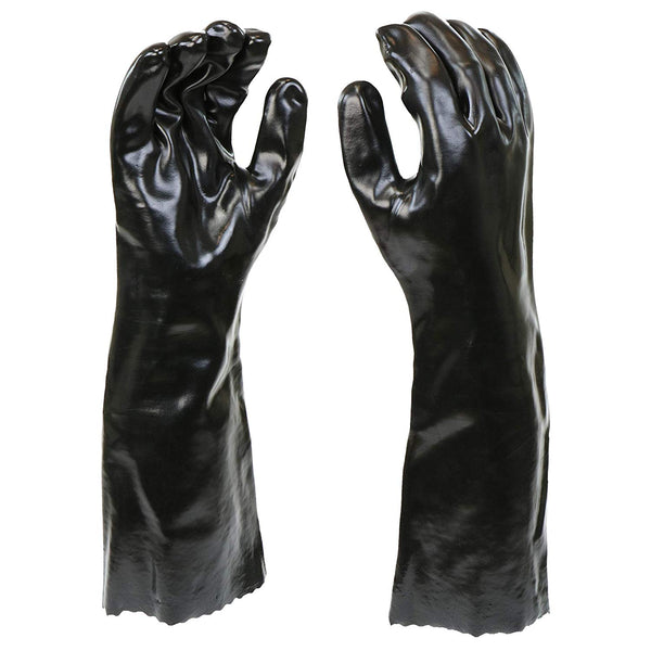 "West Chester 12018-L 12018 Chemical Resistant PVC Coated Work Gloves: 18"" Length, One Size Fits Most, 1 Pair"