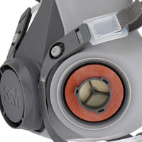 3M Spray Paint Respirator Half-mask 6002C with Removable Filters, Protection Level A2P2 against organic gases, vapours & dust , 1 Kit (Mask & Filters)