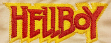 Lade das Bild in den Galerie-Viewer, Hellboy Red and Yellow Embroidered Patch - EH Patches
