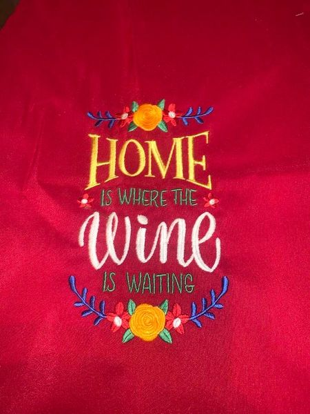 Red Apron Wine is Where the Home Is.