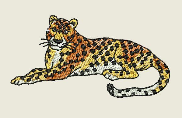 Cheetah Embroider Patch - EH Patches