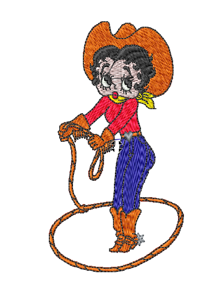Betty Boop Cowgirl