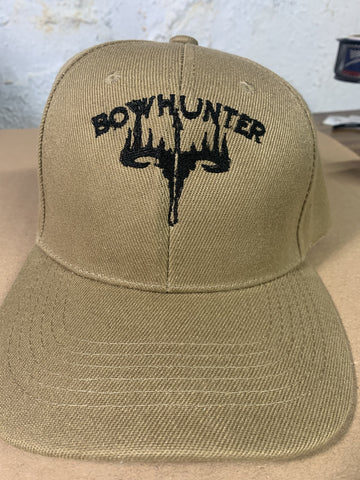 Embroidered Bow Hunter Cap
