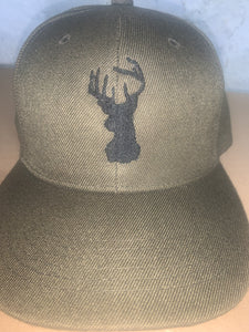 Embroidered Deer Hunter Cap - EH Patches