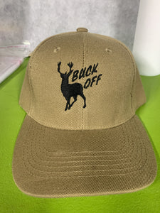 Embroidered Buck Off Hunter Cap - EH Patches