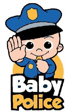 Baby Police Embroidered Patch - EH Patches