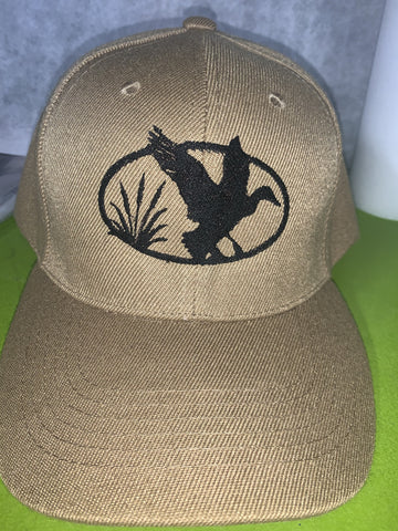 Embroidered Duck Hunter Cap