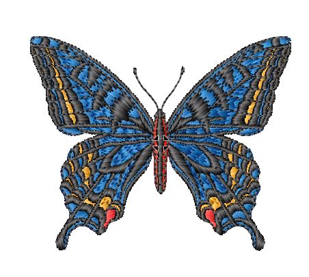 Blue Butterfly CD47001