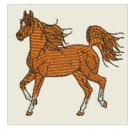 Prancing Horse Embroidered Patch - EH Patches