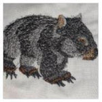 Lade das Bild in den Galerie-Viewer, Australia Wombat Embroidered Iron On Patch - EH Patches