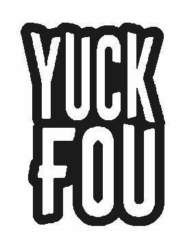 Yuk Fou Embroidered Iron On Patch - EH Patches