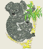 Lade das Bild in den Galerie-Viewer, Koala Embroider Iron On Patch - EH Patches