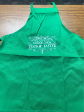 Load image into Gallery viewer, Green Kids size Cookie Taster Apron